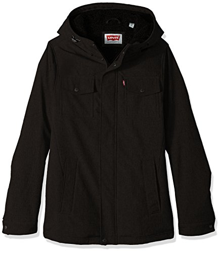 Levis Pocket Hooded Trucker Jacket