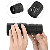Outdoor & Sports,Dartphew 1Pcs [ HD Night Vision Monocular Telescope ] - Super High Power 16X52 Portable - Powerful, ultra-compact & ultra-lightweight(Size: 160x50mm)