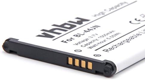 vhbw Li-Ion batería 1500mAh (3.7V) para Smartphone, teléfono móvil LG E615, E730, E730 Victor, E739 por BL-44JN, 1ICP5/44/65.: Amazon.es: Electrónica