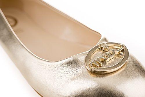 MEI Ballerine Donna Ballerine Gold Gold Donna MEI MEI Donna Gold Ballerine nwgYFRARqd