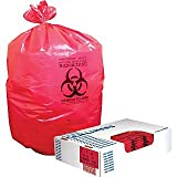 Heritage® Healthcare Biohazard Can Liners; 33-Gallon, 150/Carton