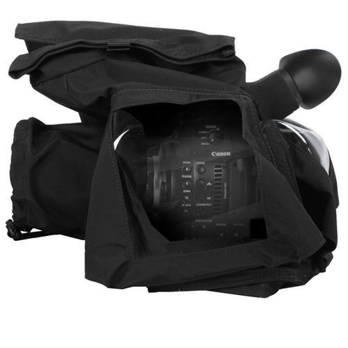 PortaBrace RS-C100II Rain Slicker, Canon EOS C100 MARK II Version, Black Rain Cover