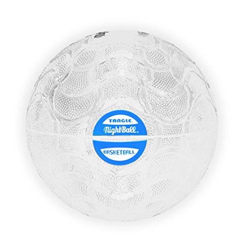 いじめっ子休日に幸運なことに(White) - Tangle NightBall Glow in the Dark Light Up LED Basketball, White