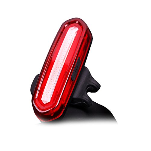WildX Bicycle Tail Light Ultra Bright IPX6 Waterproof 2 Colors 6 Modes Extremely Durable Bike Rear Light Red & Blue For Sale