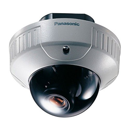 Cctv Panasonic (By-Panasonic Indoor Security Camera, High-res Video Night Vision Small CCTV Security Camera)