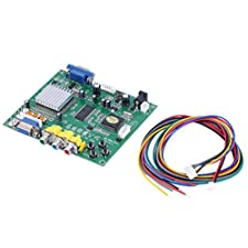 MonkeyJack RGB/CGA EGA YUV To VGA HD Video Converter Board HD9800 for CRT/ LCD/ PDP