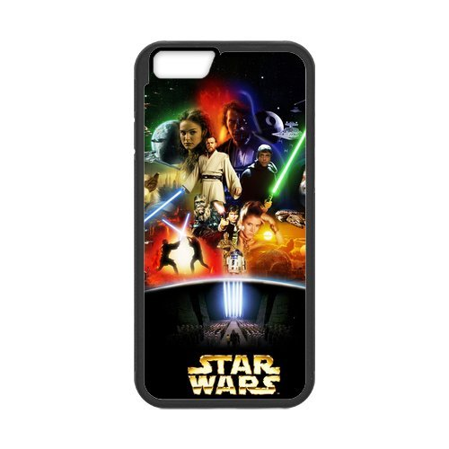 Fayruz- Personalized Protective Hard Textured Rubber Coated Cell Phone Case Cover Compatible with iPhone 6 & iPhone 6S - Star Wars F-i5G1049