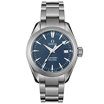 bbf56e958a42 Image Unavailable. Image not available for. Color: Omega Women's 2577.80.00 Seamaster  Aqua Terra Quartz Watch
