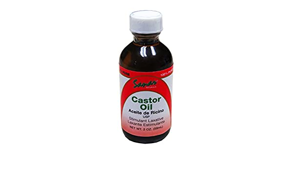 Amazon.com: Castor Oil - Aceite de Ricino - USP Laxative by SANAR NATURALS: Health & Personal Care