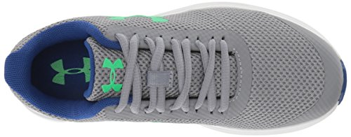 Under Armour Boys' Grade School Surge RN Sneaker, Steel (102)/White 4.5 by Under Armour (Image #7)