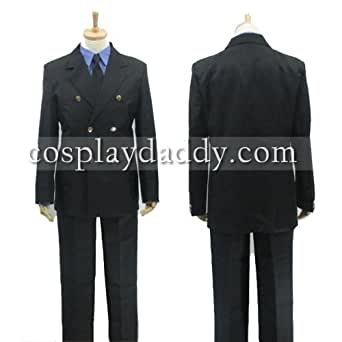 One piece Sanji Cosplay Costume School Uniform