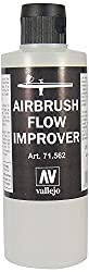 Vallejo Airbrush Flow Improver 200ml Paint Set by Vallejo