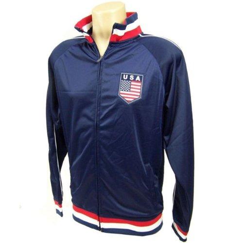 2014 USA Soccer Zippered Track Jacket-Large