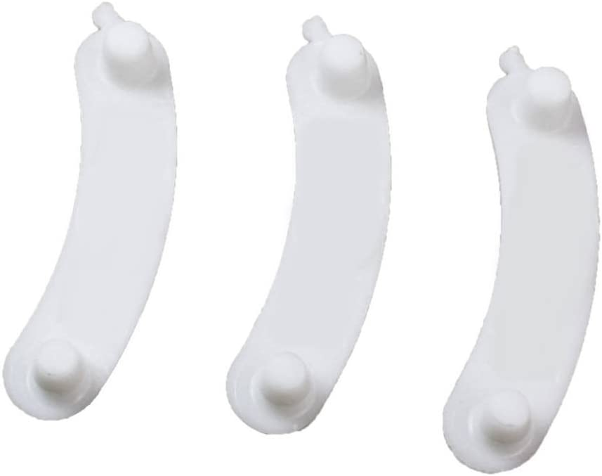 3 Pieces 285744 Tub Wear Pads for Washer Replaceable Parts Durable