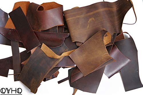 - Leather Scrapes - 1.4mm-2.0mm Leather Hide for Crafts/Tooling/Sewing/Handmade (1lb)