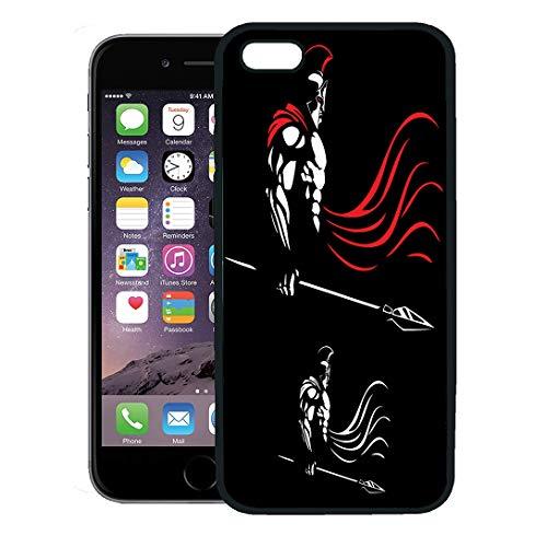 Semtomn Phone Case for iPhone 8 Plus case,Greek of Spartan Warrior Color Versions God War Bodybuilder Fantasy iPhone 7 Plus case - God Clipart