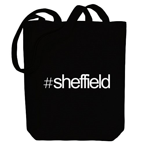 Tote Sheffield Idakoos Canvas Idakoos Hashtag Sheffield Last Last Names Bag Hashtag HTqHzBx