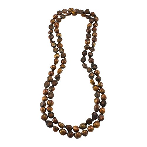 Freshwater Chocolate Pearl Necklace - 3