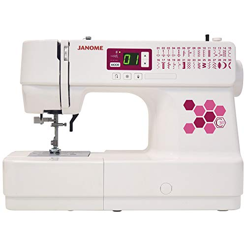 Janome C30 Sewing Machine, White