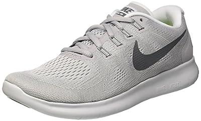 Nike Women's Free RN 2017 Running Shoe Wolf Grey/Dark Grey-Pure Platinum 6.5