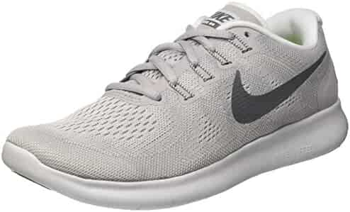 0a03d86018656 Nike Women s Free RN 2017 Running Shoe Wolf Grey Dark Grey-Pure Platinum 8.5