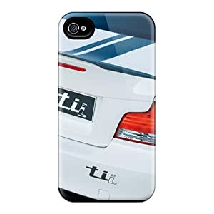 Iphone 4/4s Bmw Concept 1 Series Tail Lights Print High Quality Tpu Gel Frame Case Cover