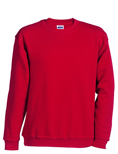 Diverses 2store24 À En S Hoodie Rond Red Col Sweat Taille Couleurs Lourd Homme 5xl shirt AAq87r