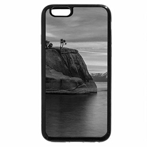 iPhone 6S Plus Case, iPhone 6 Plus Case (Black & White) - Granite Sunrise