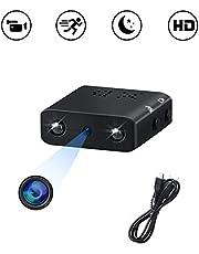 Mini Caméra Espion UYIKOO Full HD 1080P Caméra Portative Caméra Espion Cachée Micro Nanny Cam pour la Sécurité à Domicile Caméra de Surveillance avec Vision Nocturne et Détection de Mouvement