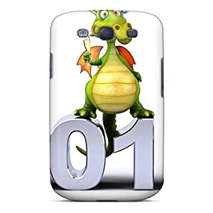 New Galaxy S3 Case Cover Casing(water Dragon Year)