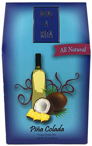 Wine-A-Rita Piña Colada Frozen Cocktail Mix, 12 Ounce Pack, Makes 72 Ounces