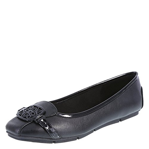 Jual Christian Siriano for Payless Women s Delilah Square Toe Flat ... 524b1a1de3