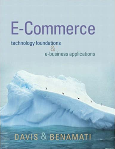 Book E-Commerce Basics: Technology Foundations and E-Business Applications