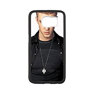 Justin Timberlake Samsung Galaxy S6 Cell Phone Case White Lmsp