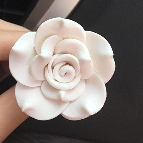 Igemy Voiture Doux Sottery Fleur Prise D Air Parfume Diffuseur De