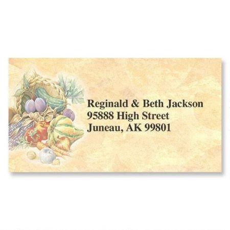 ll Border Personalized Return Address labels- Set of 144 1-1/8