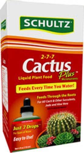 Schultz Cactus Plus Liquid Plant Food 2-7-7, 4 oz