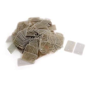 Amazon.com: Reparação de peças de Mica Isolador 500pcs ...