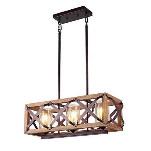 Rectangle Light Pendants in US - 8