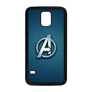 The Avengers Logo Samsung Galaxy s5 Black Cell Phone Case TAL858472 Phone Case For Boys