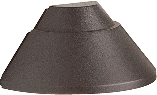 Kichler 15165AZ Deck 1-Light 12V, Architectural Bronze (Path Verdigris)