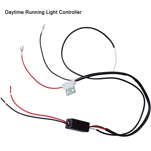 EFORCAR Car LED Daytime Running Light Controller 2A DRL Lamp Switch On/Off Controller 12-16V DC Safety Driving Controller
