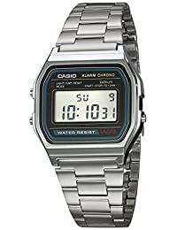 Reloj CASIO A158WA-1R Vintage Collection Digital Retro-Acero
