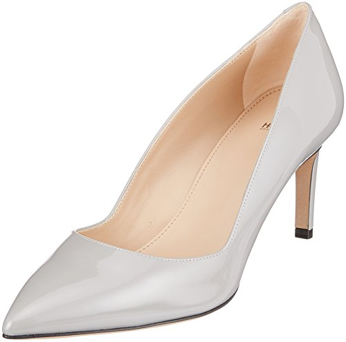 HUGO Damen Hellia-p Pumps Grau (Light/Pastel Grey 051)
