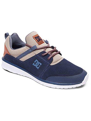 Khaki Heathrow Homme Navy M DC Basses Bleu Shoe presti Shoes Sneakers Uw1q1R