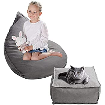Amazon Com Big Joe Cuddle Chair Zebra Kitchen Amp Dining