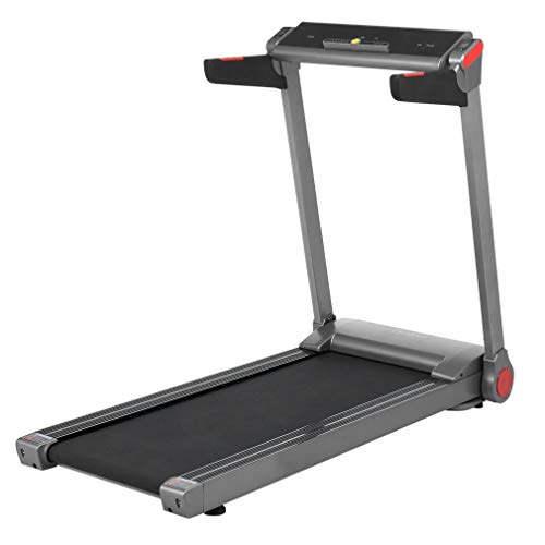 Banghotfire 2HP Electric Treadmill Foldable Running Jogging Machine with LCD Screen for Cardio Traning, Home Gym Office Use