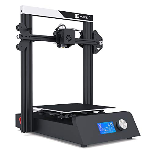 JGMAKER Magic 3D Printer with Filament Sensor and Resume Print 220x220x250mm