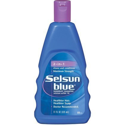 Shampoo Selsun Dandruff Blue By - Selsun Blue Medicated Dandruff Shampoo/Conditioner 2-in-1 Treatment, 11 Ounce (Pack of 3)