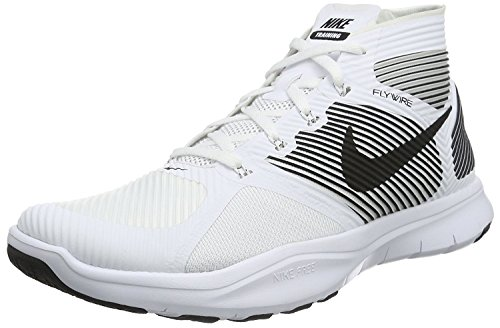 Nike Uomo Free Train Instinct Scarpe da Ginnastica Bianco (Blanco (White / Black))